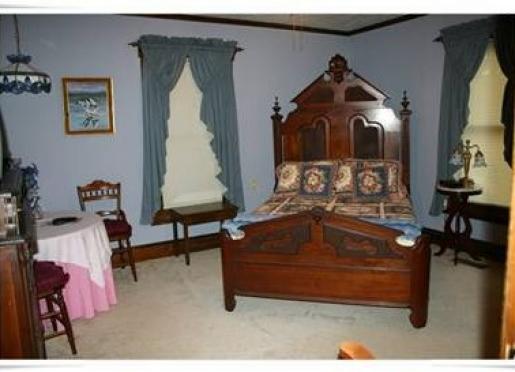 Two-Bedroom Cottage Suite - Blue Bedroom