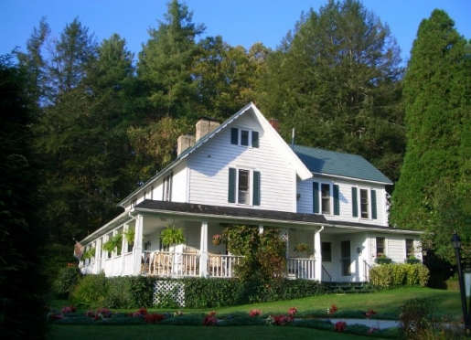 Lovill House Inn is secluded on 11 wooded acres, an in-town rural inn. Very accessible.