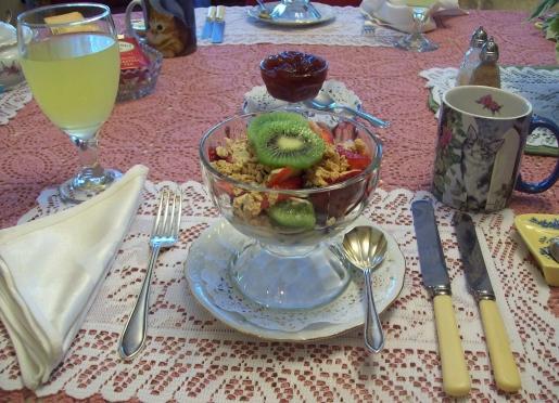 Breakfast Fruit Cup