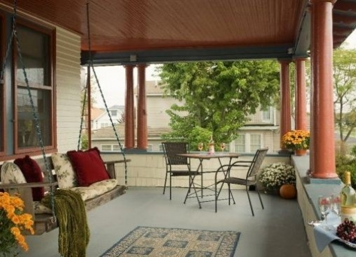The wrap around Verandah always enjoys an ocean breeze.