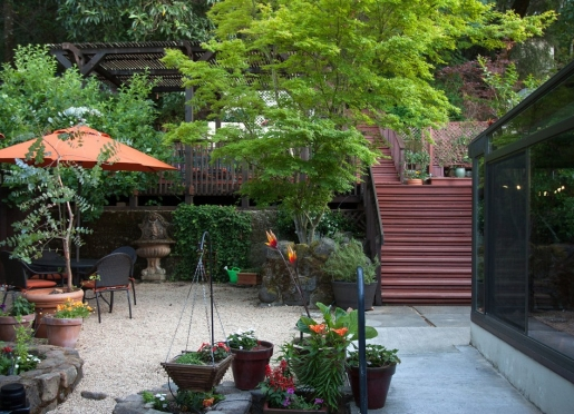 Relax on our beautiful back patio!