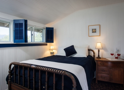 The Napa Room at our Calistoga inn.