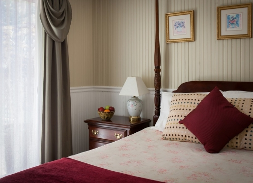 The Oakville Room at our B&B is Calistoga, CA.
