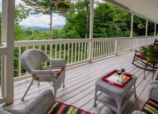 With over 2100 sq. ft. of covered porches there is no lack of space to relax & take in the scenery.