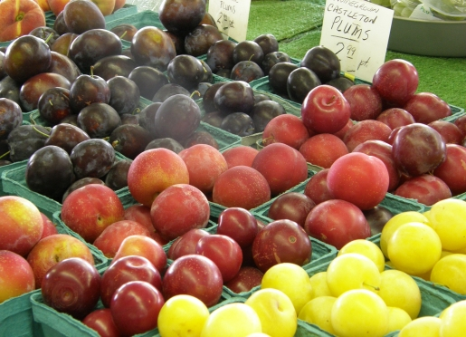 Delicious Farmers Market Plums