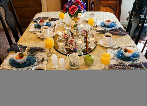 Breakfast is served in the formal dining room or ensuite as an additional option...