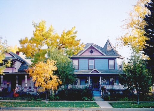 The historic Holden House is the perfect place to stay for leaf peeping Colorado aspens...