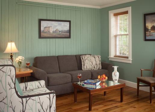 Whyte House living room