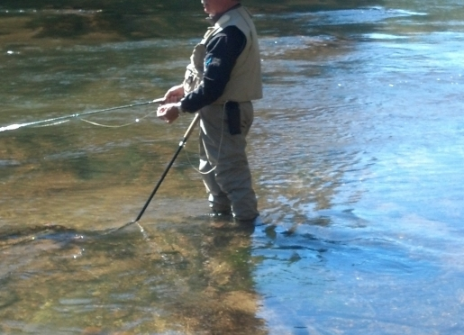 Year round trout fishing on the Toccoa River