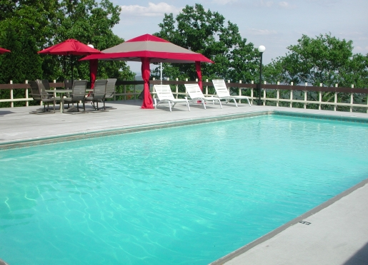 Imagine spending a hot summer afternoon in our rooftop pool.