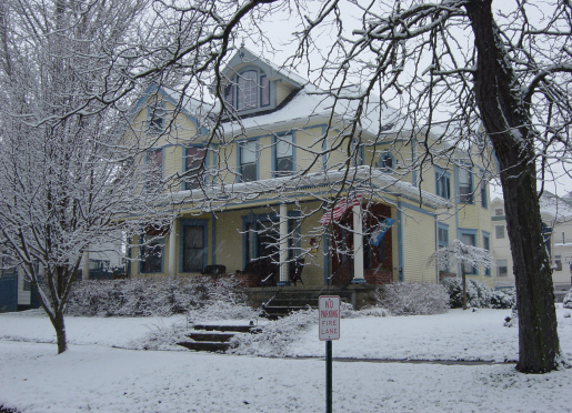 Winter at the Harkins House