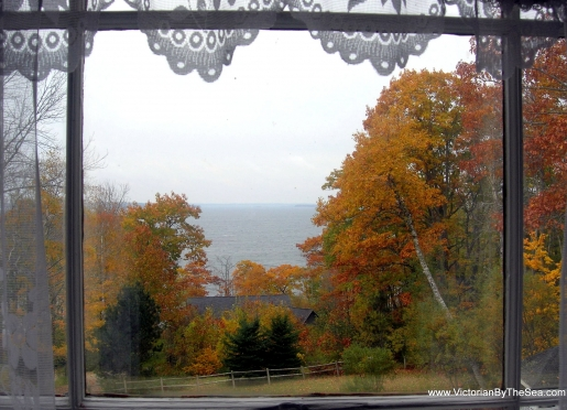 Fall View of Penobscot Bay from Victorian or Sawyer Suite and Bay Room