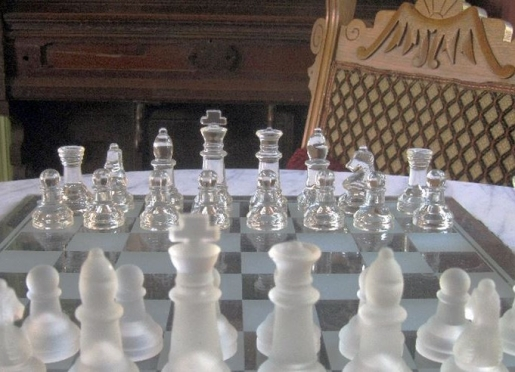 Chess set at His Majesty's