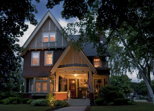Bed And Breakfast Card Wisconsin
