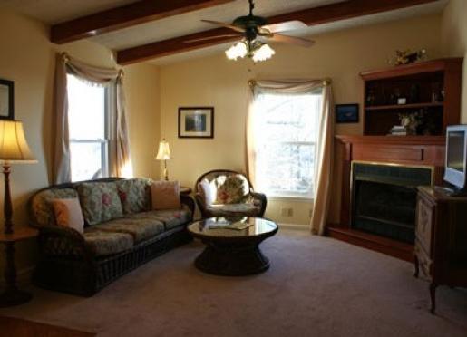 Enjoy our sunny living room.