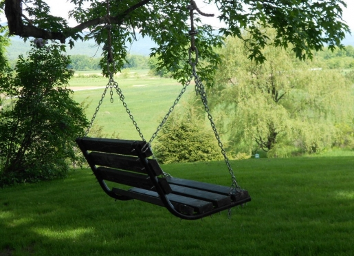A leisurely swing