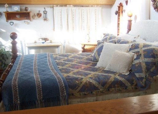 Upstairs Suite Bridal - Queen bed - TV- small fridge- double rock shower and Jacuzzi -2 vanities