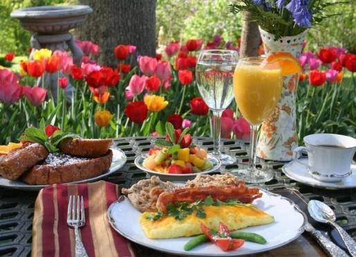 Enjoy a sumptuous breakfast!