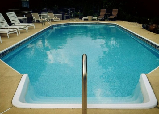 Pool is open from May thru mid September