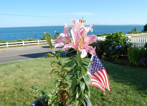 4th of July is special at Baileys with the town fireworks display right in-front of Baileys