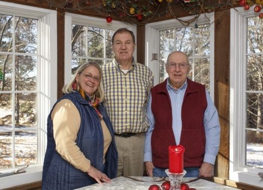Innkeepers Harriet, Jack & Don