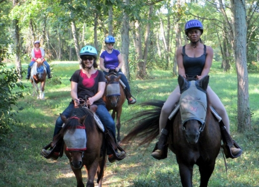 Riding in a small group introduces you to fun people whom you observe and learn from.