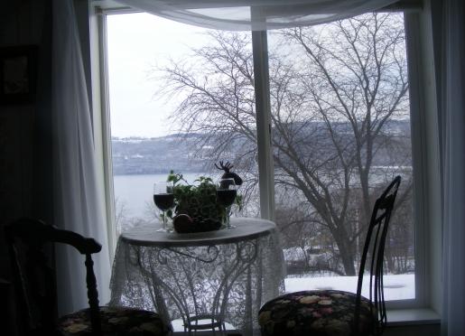 Penthouse window