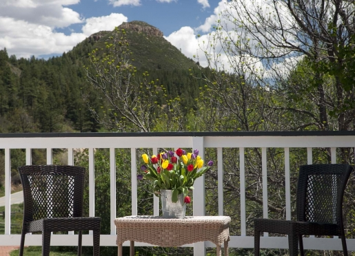 Durango Mountain Retreat Balcony Views