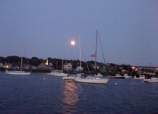 Falmouth Harbor and the Island Queen ferry to Martha's Vineyard is a short walk from Baileys