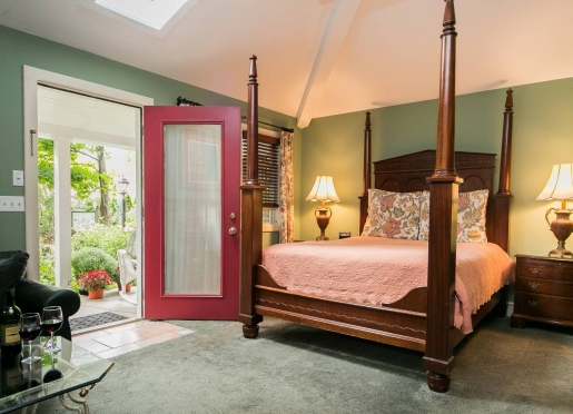 The Tuscany Cottage is our most popular room.