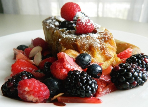 Constiency counts, and we serve our signature Baked French Toast every Sunday!