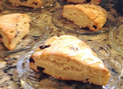 Cranberry Orange Scones...Yummy!