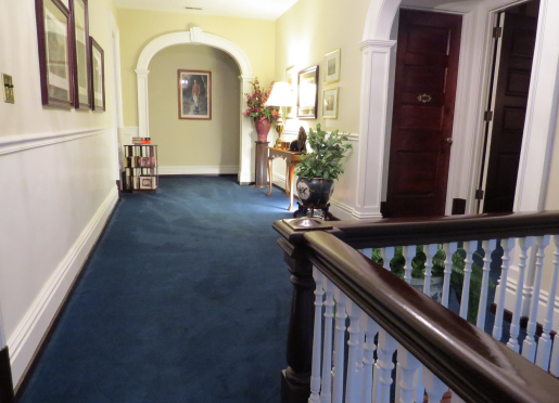 Spacious hallway providing easy access to Guest Rooms