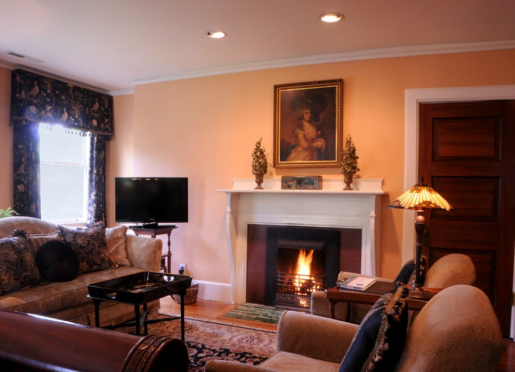 The Walnut Room Fireplace