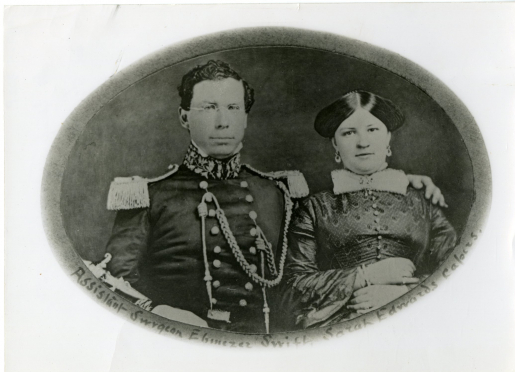 Dr. Eb & Sarah Swift-Camp Johnston N. Concho -Honeymooned and brought their