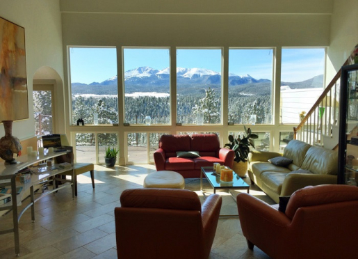 Lobby View at Pikes Peak Paradise.