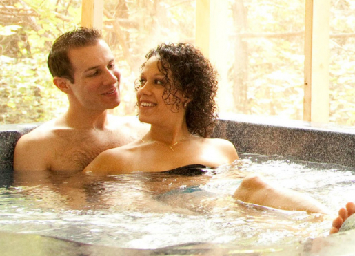 Private Hot Tubs at Arcadian Getaways