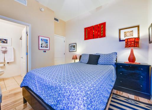 Pima Room - Inn at Civano Ground Floor Queen Room, Closet and Private bath