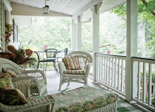 Relax and enjoy the view on our porch