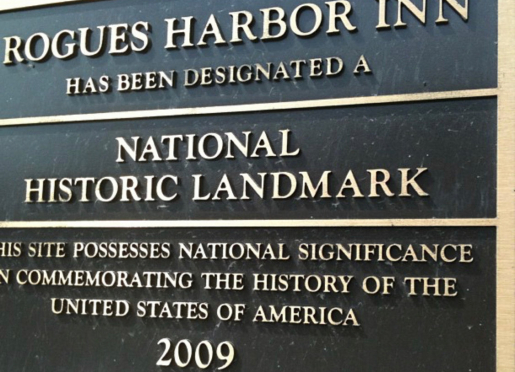 Rogues' Harbor Inn ~ National Historic Landmark ~ Circa 1830