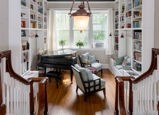 Music and Library Nook